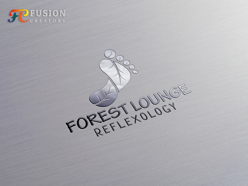 Forest Lounge Logo design Project vector fusioncreator icon logo logo presentation branding design illustration logo design