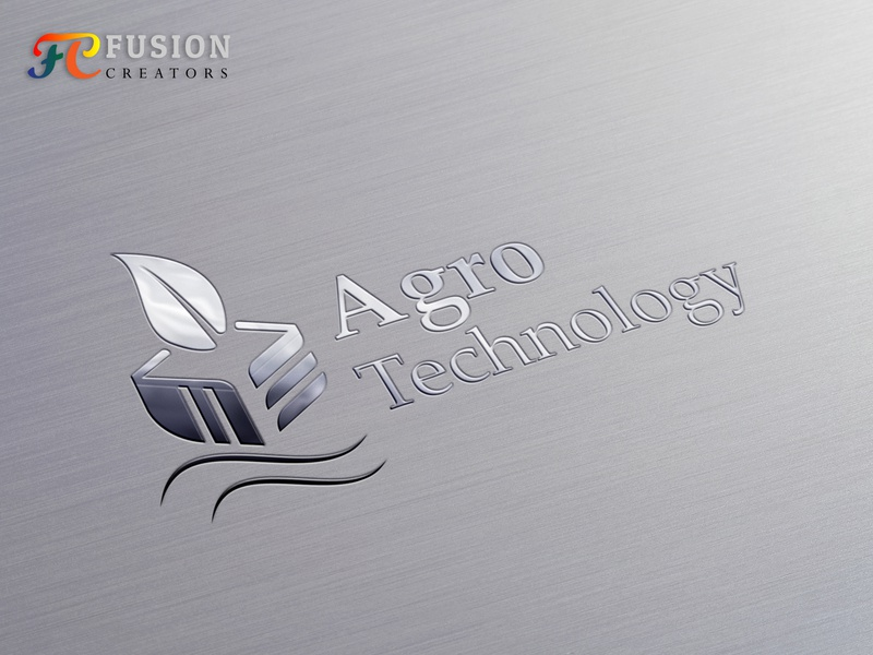 Agro Technology fusioncreator typography vector icon logo presentation illustration branding logo logo design design