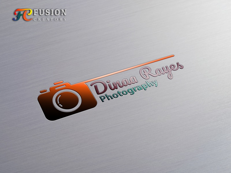 Dinna Rayes Photography designer fusioncreator icon vector logo presentation branding design logo illustration logo design