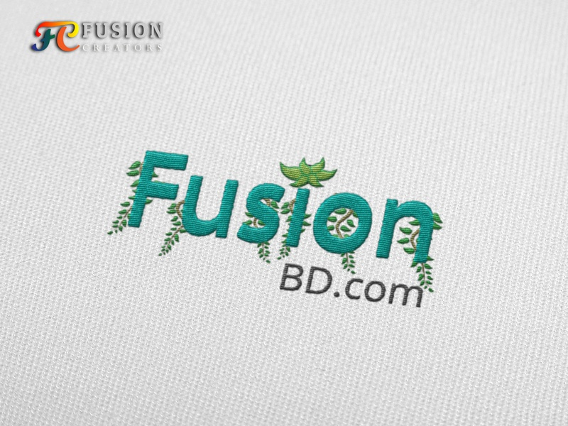 FusionBd.com typography fusioncreator logo vector branding logo presentation illustration design logo design