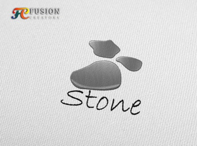 Stone designer icon fusioncreator vector logo presentation logo branding illustration design logo design