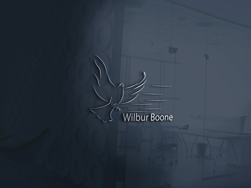 wilur bone branding design fusioncreator vector branding design illustration logo design logo presentation