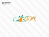 Lemon icon vector logo design logo presentation branding illustration logo design