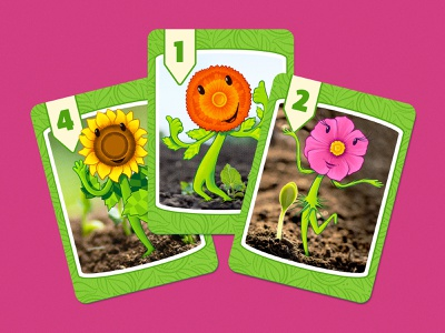 Oh My Gourd! Character Cards drawing pattern illustration art character design game design water flowers sun illustration board game