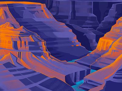 Grand Canyon packagedesign illustration canyon npf national park grand canyon packaging