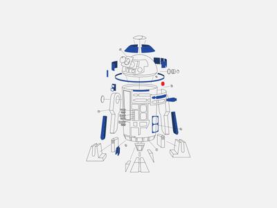 Deconstructed R2D2