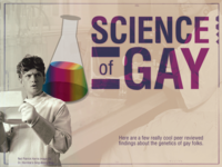 Science of Gay - infographic header
