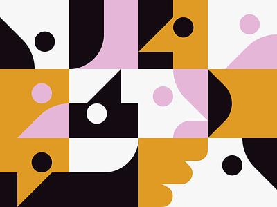 0043 background wallpaper form figure abstract artwork freebie vector geometric pattern poster print design shape geometry illustration modern art color daily