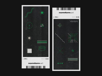 0045 line logo ticket abstract artwork geometric pattern vector art color design minimal poster print black dark future generative tech illustration