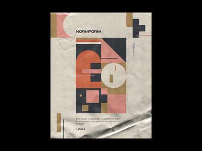 0086 simple design color design print tickets black dark generative modernism bauhaus geometry shape minimal poster freebie pattern artwork geometric vector abstract