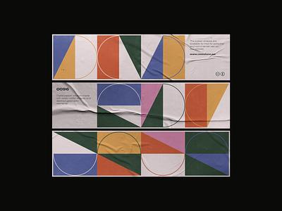 0096 postmodern modernism daily art forms colors print geometry midcentury illustration minimal modern poster design freebie artwork pattern geometric abstract vector