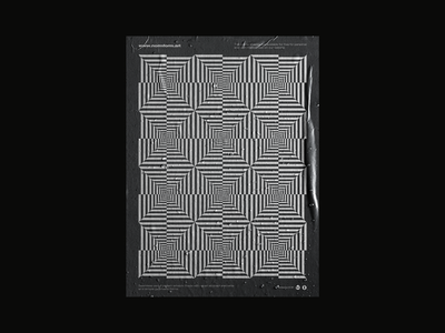 0101 line pattern forms generative pattern black and white graphic design op-art abstract geometric pattern artwork design freebie vector