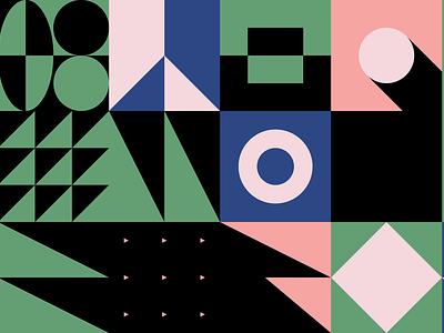 0102 memphis square logo pattern freebie geometric abstract vector