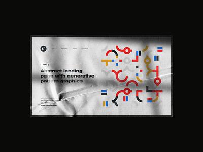 0105 pattern lineart artwork abstract geometric design freebie vector