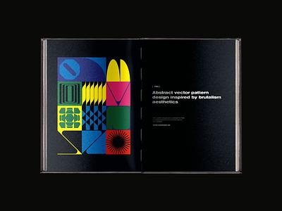 0108 brutalism artwork freebie abstract pattern geometric vector