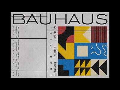 0146 bauhaus square pattern freebie artwork geometric abstract vector