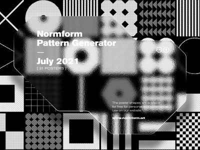 Generative Patterns Collection/ June 2021 behance pattern freebie artwork geometric abstract vector