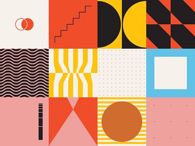 0157 daily modern 90 80 pattern freebie artwork geometric abstract vector