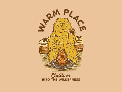 Warm Place Bear
