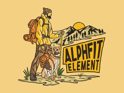 Design I did fo Alphfit Element