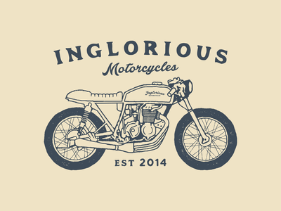 Design for Inglorious Motorcycle