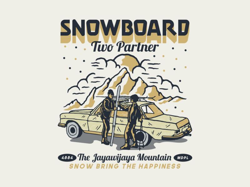 snowboard design available lettering typography illustrator logo illustration vintage badge outdoors adventure vibes snowwboard supply logobranding apparel cloth vintage