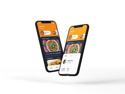 Food delivery app ui design food delivery foodie food app online shop app ui minimal app ui design app design app ux ui design