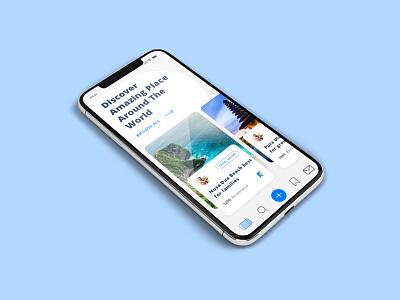 Tour Consultant App UI Design tourist guide consultant tourism tour app ui minimal app ui design app design app ux ui design