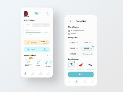MCI Hamrah E Man App Redesign uxui application apple app design ui  ux flat clean redesign ux uiux ui design uidesign ui