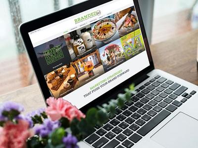 Devine Design Website for Branded 845 wordpress websitedesigner