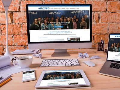 DevineDesign Website for NYSEC wordpress web design websitedesigner