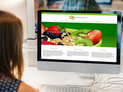 Devine Design Website for Nutrition Link Services wordpress web design websitedesigner