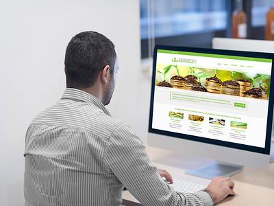 Devine Design Website for Diversified Brokerage wordpress logo illustration web design websitedesigner