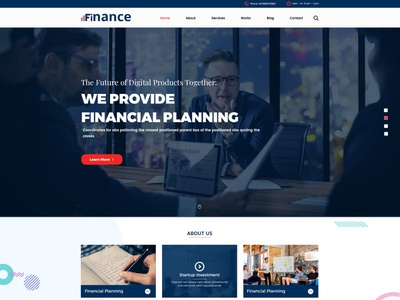 Finance - Finances/Accounting PSD Template wealth stock market stock money law investor investment invest financial finance corporate business attorney advisor accountant business solution startup investment financial planning