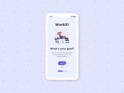 Onboarding Screens dailyuichallenge motion fitness app fitness onboards onboarding screen onboarding ui onboarding dailyui23 dailyui023 dashboard illustration design minimal flat daily uiux uidesign ui dailyui
