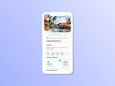 Confirmation illustration booking system dailyui 54 dailyuichallenge minimal flat dailyui tags calendar mobile ui ux mobile ui mobile app resort hotel booking booking app
