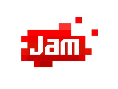 Jam jam red confiture pozzy marmalade digital agency pixel gradient