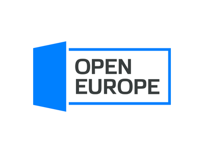 Open Europe open europe travelling discover travel globetrotting couchsurfing logo identity door contour