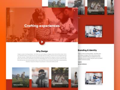 Benson Designs - Portfolio Page