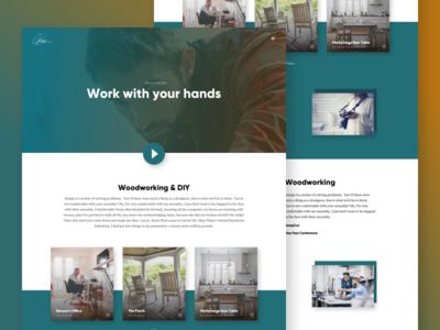 Benson Builds - Portfolio Page