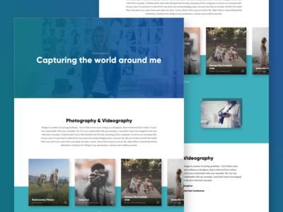 Benson Captures - Portfolio Page