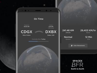 Space X BRF - In Flight Status