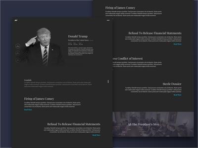 President Profile Dark