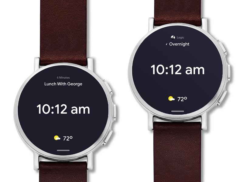 Google Watches google sans wearable tech wearables clock smartwatch android wear
