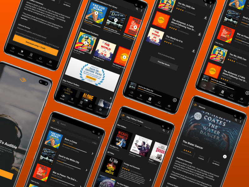 Audible Redesign