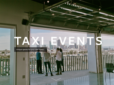 Taxi Events Spaces