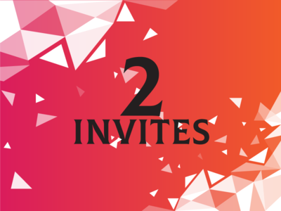 2x Dribbble Invitation To Giveaway