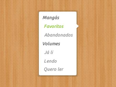 Select menu