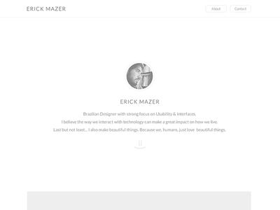 New Website WIP clean minimalism