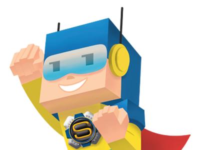 SuperSeguro Character character design character superhero hero